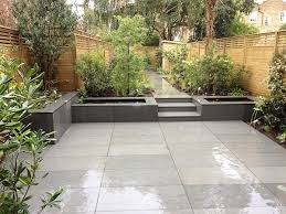 Slabbed Patio Designs Furniture Best 25 Garden Paving Ideas On Pinterest Throughout