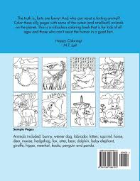 amazon com the animals coloring book 9781539486121 m t