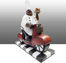 kitchen awesome chef statue for kitchen chef statue for kitchen
