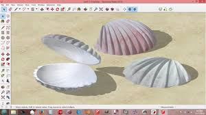 sketchup seashell models for design ideas youtube