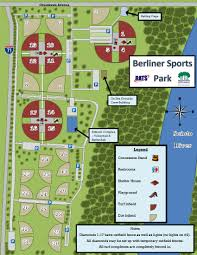 Map Of Columbus Ohio Area by Berliner Park Is The Largest Softball Complex In The U S