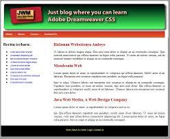 cara membuat halaman utama web dengan php membuat cms php mysql menggunakan dreamweaver cc cs6 cs5 cs4 cs3