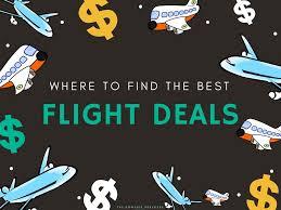 where to find the best flight deals