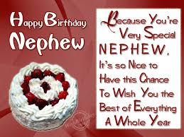 wishing special birthday to my special nephew wishbirthday com