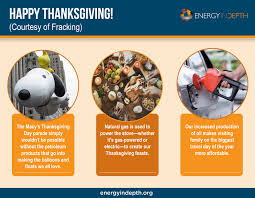 infographic fracking powers the thanksgiving