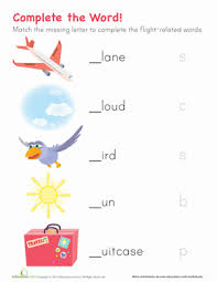 spelling worksheets for kindergarten printable free worksheets