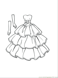 Coloring Pages Fashion Fashion Dress Coloring Pages Preschool To Coloring Pages Preschool