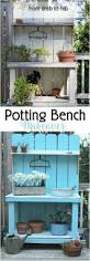 Inexpensive Potting Bench by 271 Best Garden Potting Benches Images On Pinterest Potting