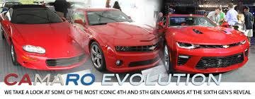 sixth camaro camaro evolution on display at the sixth reveal lsx magazine
