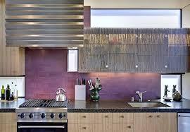 modern backsplash kitchen ideas purple backsplash nurani org