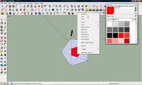 sketchup layout line color sketchup modeling simple 2d shapes and how to make lines any color