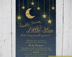twinkle twinkle baby shower invitations twinkle