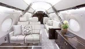 Gulfstream G650 Interior Business Jet Charter Dallas Gulfstream G650 Million Air