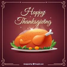 delicious roasted turkey for thanksgiving day vector premium