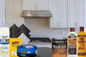 how to remove polyurethane from kitchen cabinets how to fix worn spots on kitchen cabinets home decor bliss