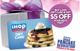 ihop gift cards restaurant deals bonus gift card deals more