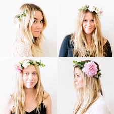 diy how to make flower crowns lauren conrad