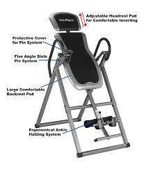 innova heavy duty inversion table innova itx9600 heavy duty inversion table healthy o healthy