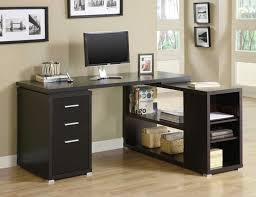 Deep Office Desk L Shaped Desk Home Office With Elegant And Modern Design To Add