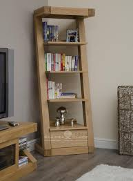 Narrow Bookcase by Designer Solid Oak 1 Drawer Narrow Bookcase Bookcases Pine