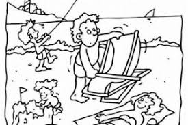 summer vacation coloring pages printable coloring pages gallery