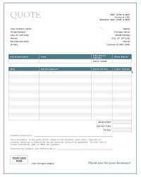 Estimate Sheet Templates Free 28 Free Templates For Quotes Sle Quotation Template Free