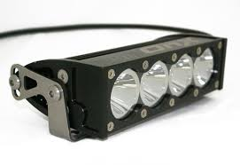 6 inch light bar illuminating the road ahead led light bar roundup diesel tech magazine
