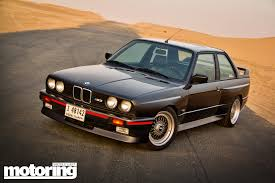 bmw e30 m3 1987 bmw e30 m3 driven in dubai motoring middle east car