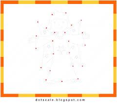 kids printable dot to dot free angel dot to dot