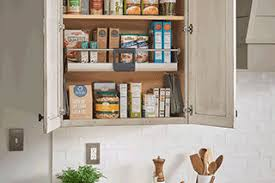 cabinet pull out shelves kitchen pantry storage medallion at menards cabinetry pantry storage and food