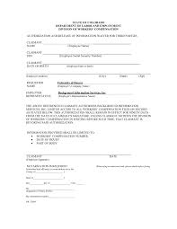 contractor workers comp waiver form compensation exemption florida