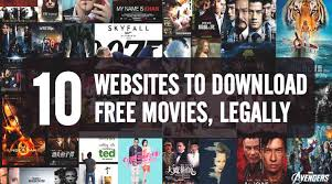 top 10 free movie download websites that are completely legal
