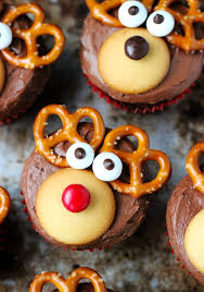 christmas reindeer chocolate cupcake u2013 party cheap sweet treat