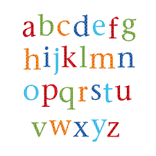 childrens alphabet wall stickers upper and lower case by kidscapes childrens alphabet wall stickers upper and lower case
