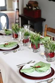 Easy Christmas Table Decorations Ideas 8074