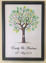 wishing tree personalised wedding tree guest book alternative wishing tree