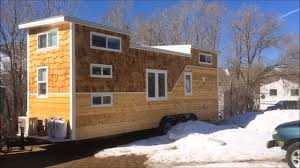 loft houses this is a 28 foot tiny house on wheels built for a family of four