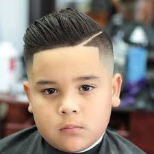 pompadour haircut toddler boy faded pompadour with line up haircuts for toddler boy kids