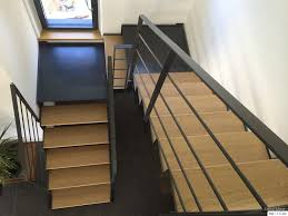limon d escalier en bois fabrication escalier metal bois escalier moderne en bretagne