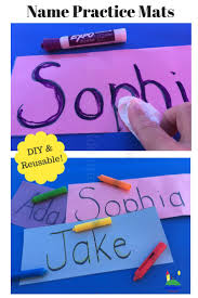 name writing paper 76 best name activities images on pinterest alphabet activities help kids practice name writing with this diy reusable name mat