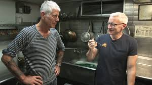 anthony bourdain anthony bourdain is on a mission to make anderson cooper try new