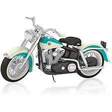 harley davidson 1958 flh duo glide motorcycle ornament