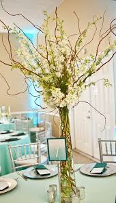 curly willow centerpieces white and green centerpiece of curly willow with white