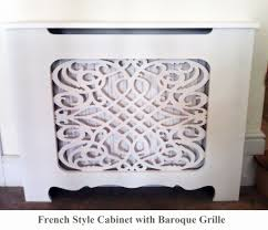 french style radiator cover shabby chic