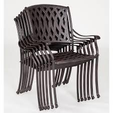 Patio Stacking Chairs Furniture Venetian Chair Stack Aluminium Stacking Chairs