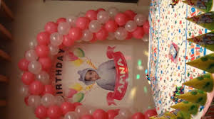 Balloon Decoration Ideas For Birthday Party At Home Best Thematic Birthday Planner Balloons Decoration Services In
