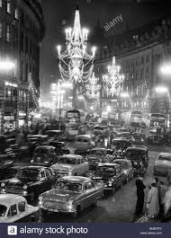 New Christmas Lights by Regent Street Packed With Traffic As New Christmas Lights In The