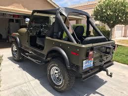 jeep army green 1977 jeep cj7 cj ww2 army green used jeep cj for sale in las