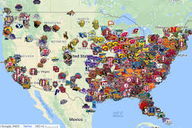 Paradise Valley Community College Map Where Every Division I College Basketball Player Is From Mid