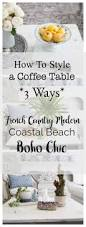 behind the scenes of coffee table styling 3 ways shabbyfufu